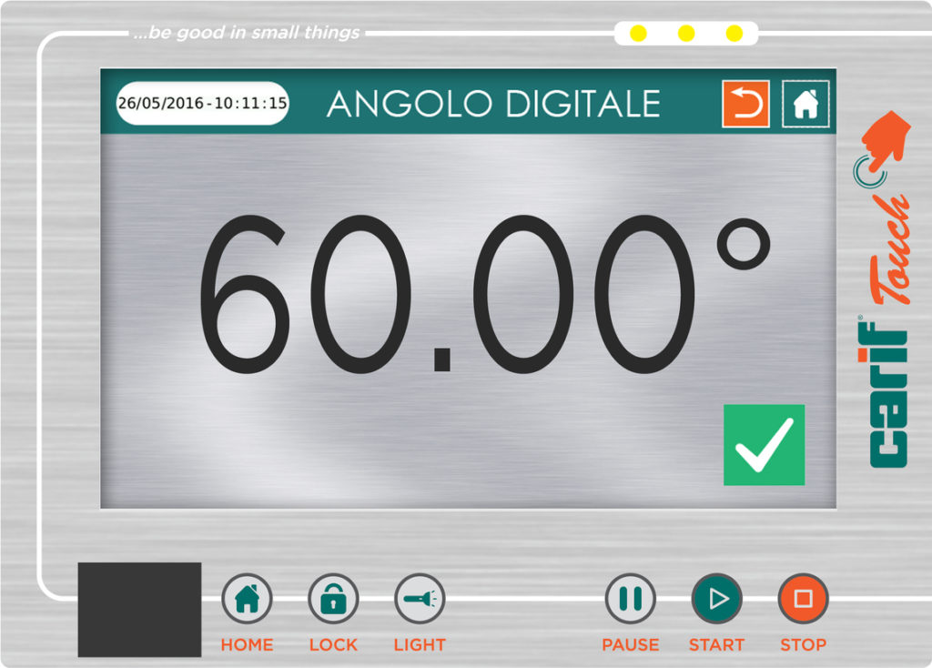 DIGITAL ANGLE DISPLAY TOUCH