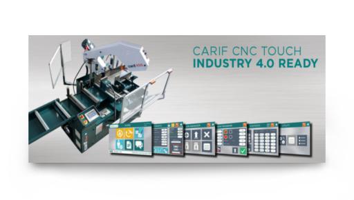CARIF CNC TOUCH … SEGATRICI 4.0